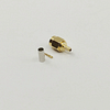 SMA Male Crimp Solder Connector for RG174 RG316-DS Gold Plated
