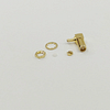 RP SMA Female Right Angle Bulkhead Connector for RG316-S Gold Plated
