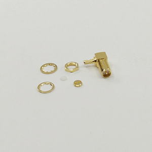 RP SMA Female Bulkhead Connector RG316-DS Gold Plated